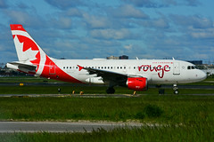 C-FYJH (Air Canada - rouge) (Steelhead 2010) Tags: aircanada rouge airbus a319 a319100 yyz creg cfyjh