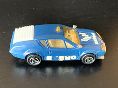 Majorette France - 200 Series - Number 264 - Renault Alpine A 310 - Police Car - Sermo Promotional Model - Miniature Die Cast Metal Scale Model Emergency Services Vehicle (firehouse.ie) Tags: sermo car police alpine renault models model miniatures miniature metal majorette