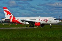 C-FYJP (Air Canada - rouge) (Steelhead 2010) Tags: aircanada rouge airbus a319 a319100 yyz creg