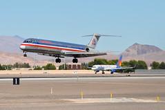 American Airlines (AA) - McDonnell Douglas (Douglas) MD-82 (DC-9-82) - N576AA - McCarran International Airport (LAS) - Las Vegas - September 23, 2013 1 318 RT CRP (TVL1970) Tags: nikon nikond90 d90 nikongp1 gp1 geotagged nikkor70300mmvr 70300mmvr aviation airplane aircraft airliners mccarraninternationalairport mccarranairport mccarran mccarraninternational lasvegas las klas n576aa americanairlines aa mcdonnelldouglas douglasaircraft douglasaircraftcompany douglas dac douglasdc9 douglasdc982 dc9 dc982 md82 md80 super80 super82 mcdonnelldouglasmd82 maddog prattwhitney pw jt8d jt8d217 jt8d217c n906nv allegiantair allegiant gbyap britanniaairways britannia thomsonfly johnlennon thomsonairways tuiairways tui tuiuk boeing boeing757 boeing757200 757 757200 757200wl boeing757204 757204 757204wl b757 b752 aviationpartners winglets rollsroyce rr rb211 rb211535e4