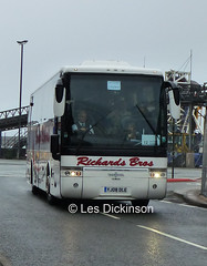 YJ08 DLE, VDL, Van Hool, Richards, P1250279 (LesD's pics) Tags: bus coach richardsbros yj08dle vdl vanhool