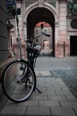 Ride (RawckinºPixel) Tags: bike munich street bavaria old town odeon europe walls