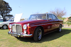 Rover 3.5 Litre Coupe XAX69J (Andrew 2.8i) Tags: classics meet show cars car classic weston westonsupermare british coupe saloon sedan 4door p5 bl britishleyland 3500 v8 35litre rover p5b