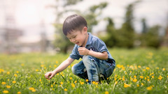 20190602-RAY_0494 (RayJing) Tags: child portrait flower yellow smiles