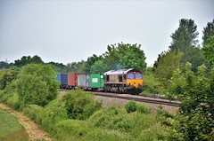 66207 (stavioni) Tags: class66 shed ews db cargo diesel rail railway freight railfreight train