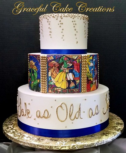 Beauty And The Beast Wedding Cake.Beauty And The Beast Wedding Cake A Photo On Flickriver