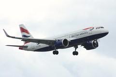 G-TTNB | British Airways | Airbus A320-251N (geoff487) Tags: britishairways speedbird baw ba gttnb airbusa320n airbusa320 airbus neo londonheathrowairportlhr egll sharklets