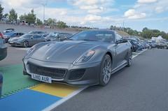 Ferrari 599 GTO (John McCulloch Fast Cars) Tags: ferrari 599 gto grey lh10aur