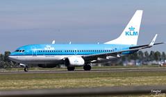 Boeing 737 Cuckoo KLM (Dawlad Ast) Tags: aeropuerto internacional amsterdam ams schiphol holanda international airport avion plane airplane aircraft spotting mayo may 2019 holland polderbaan despegue takeoff take off boeing 7377k2 phbgu klm sn 39257 koekoek cuckoo b737 737700 737