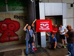 sloga-serbia-mellon1 (PAME-All Workers Militant Front) Tags: pame παμε πανεργατικό αγωνιστικό μέτωπο all workers militant front greece εργάτησ σωματείο συνδικάτο απεργία συλλαλητήριο κινητοποίηση διμαρτυρία αγώνασ πορεία πολιτισμόσ αθλητισμόσ εργασία εργατικά δικαιώματα μισθόσ σύμβαση συλλογική κατάληψη δράση ταξικό strike working class struggle trade union protest παγκόσμια συνδικαλιστική ομοσπονδία world federation wftu fsm rights freedom organization προνοια ασφάλιση υγεία action internationalism imperialism ιμπεριαλισμόσ διεθνισμόσ αλληλεγγύη solidarity