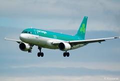 AER LINGUS A320 EI-DEJ (Adrian.Kissane) Tags: irish ireland airline airliner flying landing outdoors sky jet aircraft airbus aeroplane plane dublinairport 2364 1662019 a320 eidej dublin aerlingus