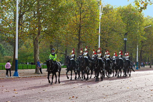 Horse Guards on The Mall