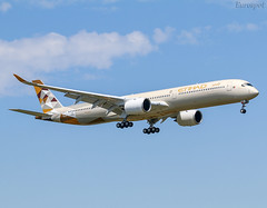 F-WZFD Airbus A350-1000 Etihad (@Eurospot) Tags: a6xwa fwzfd airbus a350 a3501000 etihad lfbo toulouse blagnac