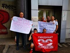 sloga-serbia-mellon5 (PAME-All Workers Militant Front) Tags: pame παμε πανεργατικό αγωνιστικό μέτωπο all workers militant front greece εργάτησ σωματείο συνδικάτο απεργία συλλαλητήριο κινητοποίηση διμαρτυρία αγώνασ πορεία πολιτισμόσ αθλητισμόσ εργασία εργατικά δικαιώματα μισθόσ σύμβαση συλλογική κατάληψη δράση ταξικό strike working class struggle trade union protest παγκόσμια συνδικαλιστική ομοσπονδία world federation wftu fsm rights freedom organization προνοια ασφάλιση υγεία action internationalism imperialism ιμπεριαλισμόσ διεθνισμόσ αλληλεγγύη solidarity
