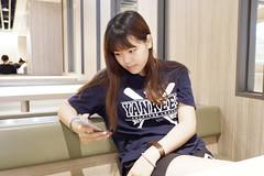 長庚 1080618 (#Esther) Tags: 畢業生 台妹 辣台妹 可愛 teenager taiwan lady women woman high pretty cute lovely gal 女生 美眉 妹妹 女孩 學生 高中生 家。老家 日常 家 老家 family young school girl student 家人。高中生