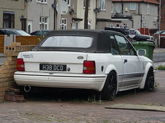 1990 Ford Escort 1.6 RS Turbo (Neil's classics) Tags: 1990 ford escort 16 rs turbo abandoned car