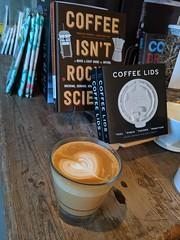 Latte Art at the Read Shop (JavaJoba) Tags: