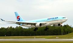 Korean HL8211, OSL ENGM Gardermoen (Inger Bjørndal Foss) Tags: hl8211 korean airbus a330 osl engm gardermoen