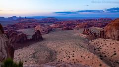 A Whole 'nother Valley (Steven Christenson) Tags: monumentvalley utah huntsmesa sunrise landscape clouds scrub sandstone navajo triballand phillipsphotographytours
