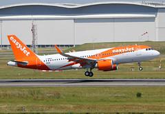 F-WWDK Airbus A320 Neo Easyjet (@Eurospot) Tags: guzld fwwdk airbus a320 neo 9036 easyjet lfbo toulouse blagnac