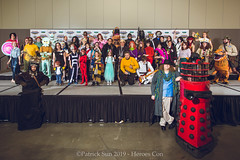PS120387 (Patcave) Tags: heroes con heroescon heroescon2019 2019 convention cosplay costumes cosplayers marvel dc star wars anime videogames portrait group shoot shot canon 1740mm f4 lens patcave 5d3 northcarolina north carolina charlotte center indoors air conditioning