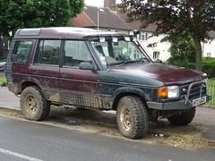 1995 Land Rover Discovery (Neil's classics) Tags: 1995 land rover discovery landrover offroad wagon