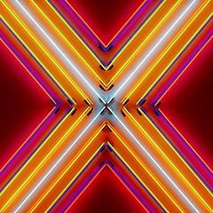 IMG_1150673 (Kathi Huidobro) Tags: detail london closeup neon colours x neonlights whitecube artexhibition lightart londonart theastergates lights neonart