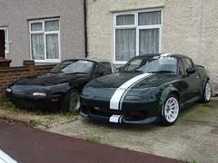 1996 & 1992 Maxda MX-5 (Neil's classics) Tags: 1996 1992 maxda mx5 car
