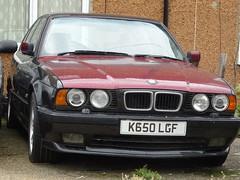 1992 BMW 535i Sport Auto (Neil's classics) Tags: 1992 bmw 535i sport e34 abandoned car