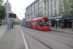 206-01 (Ian R. Simpson) Tags: 206 bombardier incentro at65 tram nottinghamexpresstransit net jet2com advert
