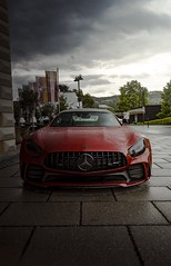 Car with 2 faces... (tomjech) Tags: mercedes benz car rain photography photo shot sony low rainy mercedesbenz gt apa tuning luxury amg slammed stance luxurycar tuned 2019 velden tjp worthersee a7r speedhunters stanced veldenamworthersee amggt worthersee2019 tjworks