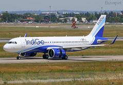 F-WWDF Airbus A320 Neo Indigo (@Eurospot) Tags: fwwdf airbus a320 neo indigo 9045 lfbo toulouse blagnac