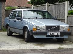 1989 Volvo 740 GLE Auto (Neil's classics) Tags: 1989 volvo 740gle auto car