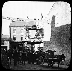 Pig Fair Killoglin Co Kerry (foundin_a_attic) Tags: ireland kerry thomas holmes mason lantern slide irish pig fair killoglin co