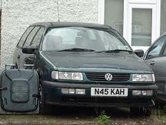 1996 Volkswagen Passat 2.0 Comfortline (Neil's classics) Tags: 1996 volkswagen passat 20 comfortline vw 1984cc touring station wagon estate abandoned car
