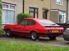 1986 Ford Capri 1.6 Laser (Neil's classics) Tags: 1986 ford capri 16 laser car