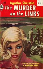 Harlequin Books 441 - Agatha Christie - The Murder on the Links (swallace99) Tags: harlequin vintage 50s murder mystery paperback paulannasoik