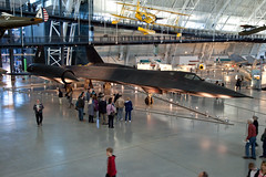 Lockheed SR-71, National Air and Space Museum, Steven F. Udvar-Hazy Center, Chantilly, Virginia (Roger Gerbig) Tags: nationalairandspacemuseum smithsonian stevenfudvarhazycenter aviation museum rogergerbig chantilly virginia dulles lockheedsr71 blackbird