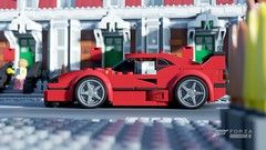 Ferrari F40 (MID LAND ZETA) Tags: forzaphotography lego xbox ferrarif40 ferrari forzahorizon4