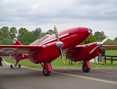 Time To Say Goodbye (Nigel Musgrove-2.5 million views-thank you!) Tags: de havilland dh88 comet shuttleworth season premiere old warden bedfordshire england 5 may 2019