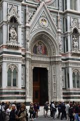 Kirchenportal (grasso.gino) Tags: italien italia italy toscana toskana tuscany florenz firenze nikon d7200 kirche church basilika dom duomo portal tür doorway