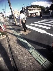 Illuminated your back (U-ichiro1003) Tags: street snap iphonese hipstamatic wide lens