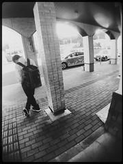 Waiting boy (U-ichiro1003) Tags: street snap iphonese hipstamatic wide lens