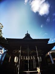 Their prayers (U-ichiro1003) Tags: street snap iphonese hipstamatic wide lens