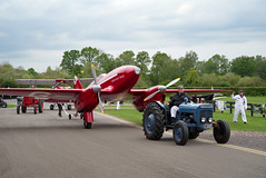 The Closing of the Day (Nigel Musgrove-2.5 million views-thank you!) Tags: de havilland dh88 comet shuttleworth season premiere old warden bedfordshire england 5 may 2019