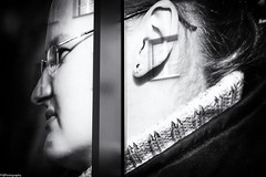 window.in.ear (fhenkemeyer) Tags: krakow poland museumofcontemporaryartkrakow mocak windows abstract reflection portrait