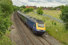 43027 (Shed seven) Tags: hst 125 diesel 43027 43023 hulltrains first waterorton 43