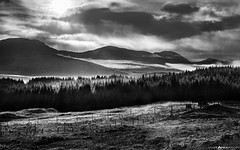 Scottish Highlands in BW #2 (Matt Anderson Photography) Tags: highangleview atmosphericmood builtstructure capitalcities cleat cloudsky colorimage colors curve day dramaticlandscape dramaticsky edinburghscotland extremeterrain famousplace fog glenfinnan hebrides hill horizontal island isleofskye landscape lensflare loch lushfoliage luxuriant moor morning motion mountain mountainrange mountainridge nonurbanscene outdoors overcast panoramic photography quirang rockobject scenicsnature scotland scottishculture scottishhighlands dramaticweather rain storm sunrisedawn tranquilscene traveldestinations trotternish uk valley wilderness madison wisconsin usa