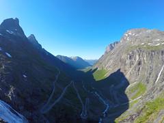 Trollstigen, Norways most famous tourist road.