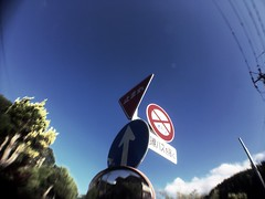 Indications \ (U-ichiro1003) Tags: street snap iphonese hipstamatic wide lens